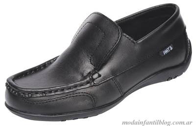 zapatos colegiales niño plumitas otoño invierno 2014
