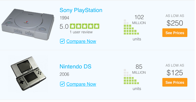 """ sony playstation compared with Nintendo"""