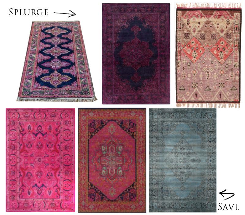 Anthropologie Rug. Overdyed Rug. Oriental Weavers Rug. NuLoom Rug.