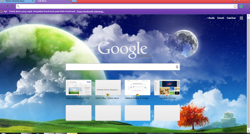 Tema Google Chrome
