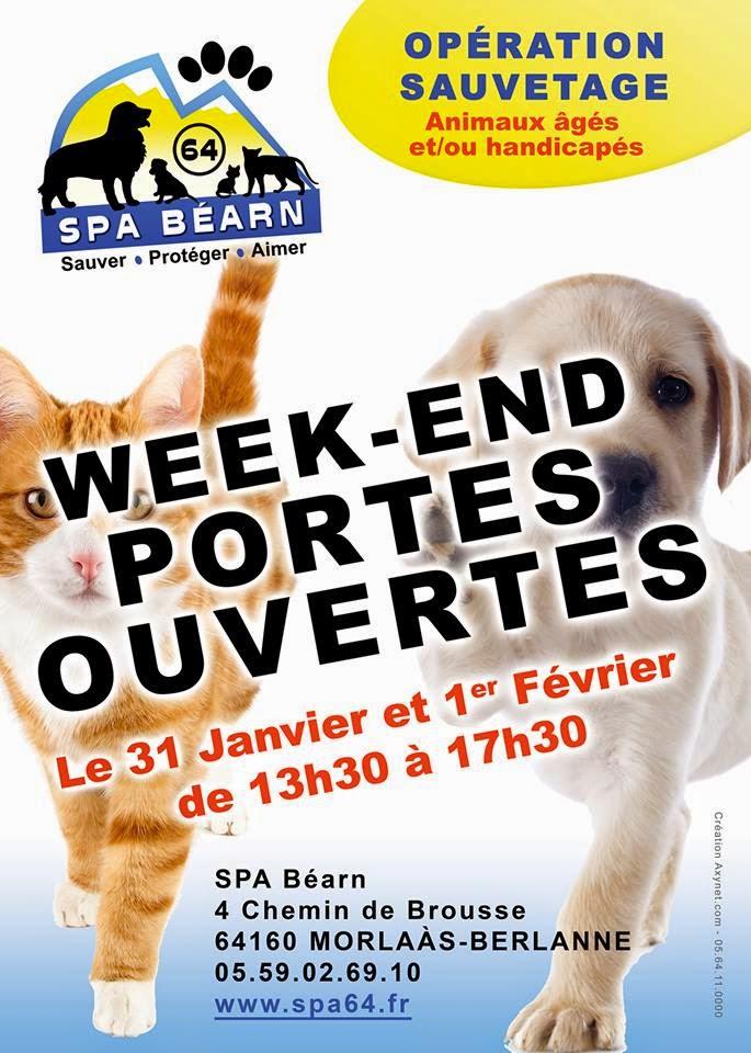 WEEK End Portes Ouvertes SPA Béarn 2015