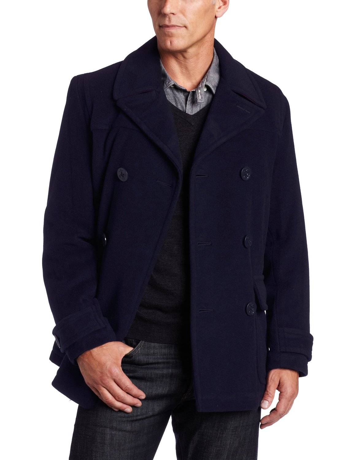 How to Wear a Pea Coat for Men - The Trend Spotter 44