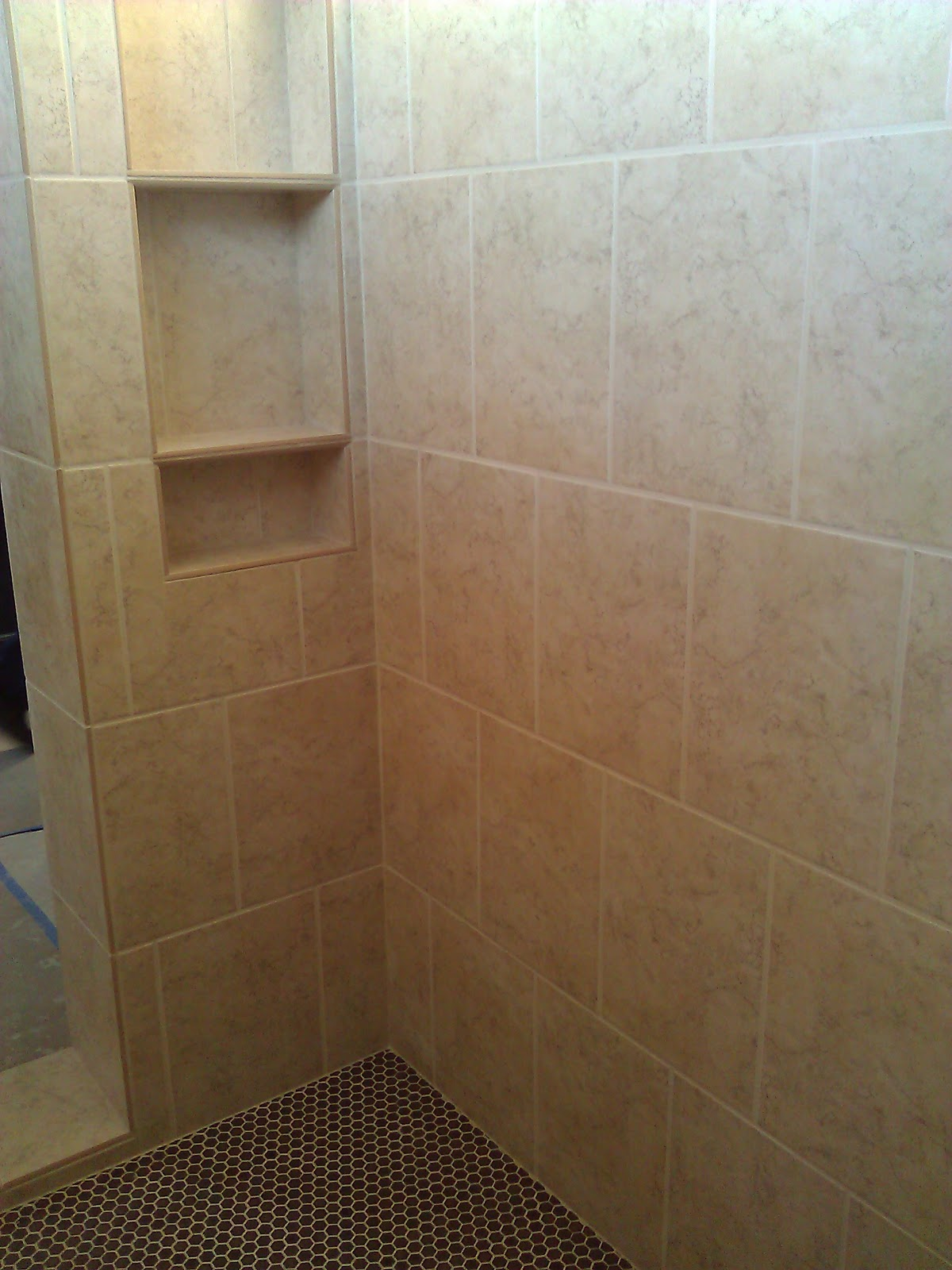 Cooper Floor Tile Walk In Shower And Wall