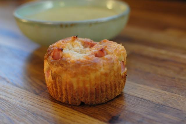 matmuffins, muffins, till soppan, skinka, ost, muffins med skinka och ost, recept