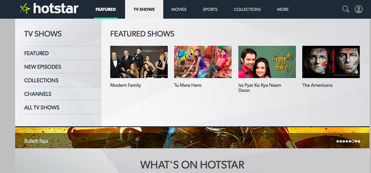 Download Hotstar for iphone Ipad and MAC IOS 8.1.2 Free