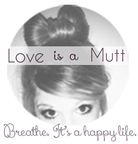 L♥ve is a Mutt