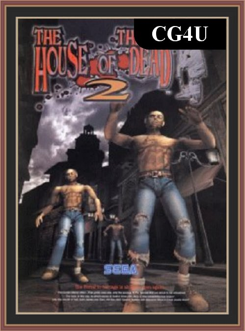 The House Of The Dead 2 Pc Game Cover | The House Of The Dead 2 Pc Game Poster