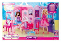 Barbie: The Princess and The Popstar Princess Playset in box
