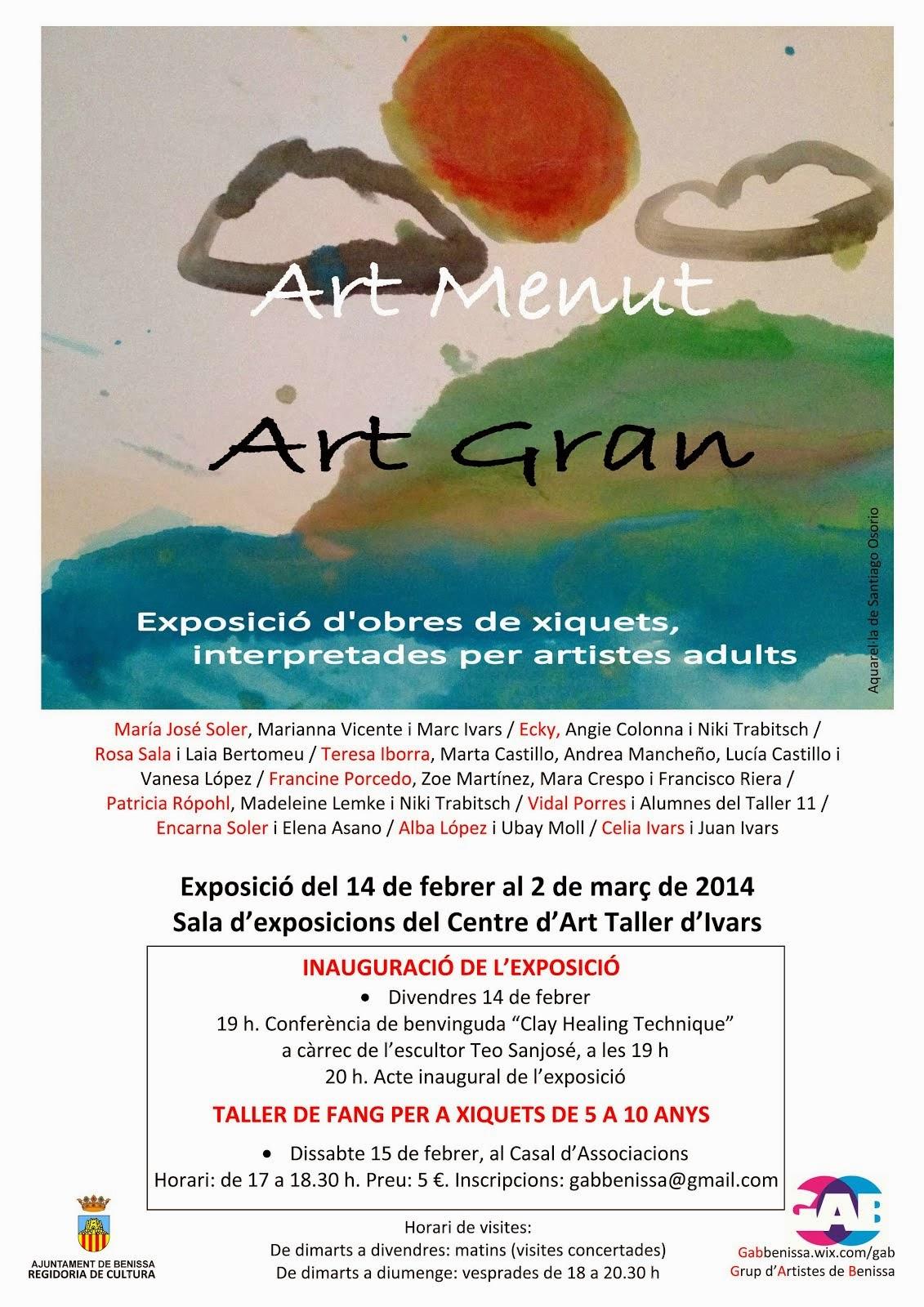 ART MENUT - ART GRAN