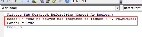 insérer code