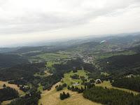 paragliding nad Lysou horou