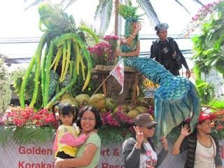 Floral Parade, Kadayawan Festival 2012, Davao City