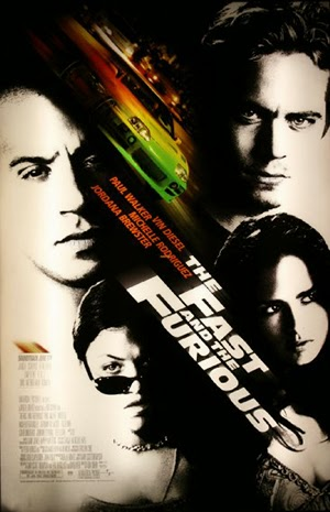 Poster The Fast and the Furious 2001