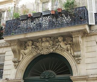 Balcon du 17 rue de Lancry à Paris