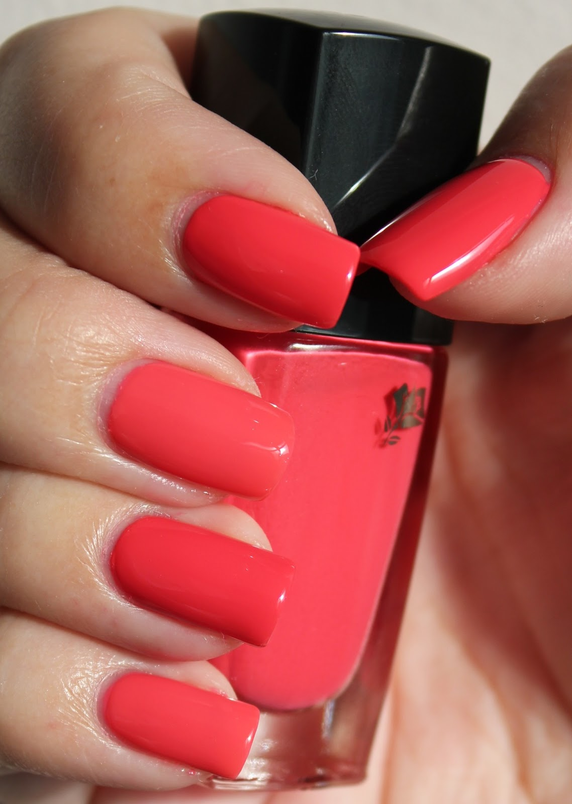 lola nailed it dupe swatch essie cute as a button vs