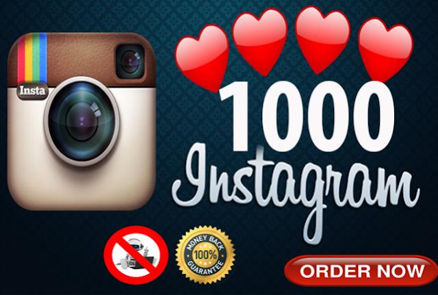 PERMANENT 1000 High Quality lnstagram Likes