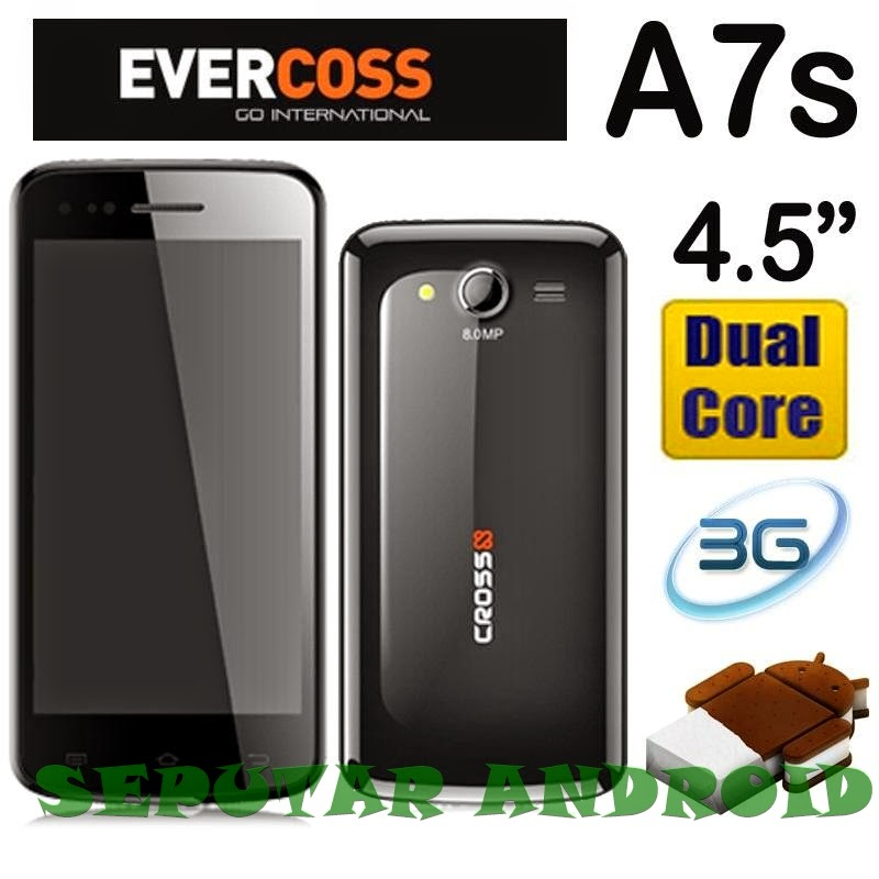 Cara Flash Ulang Android Evercross A7s