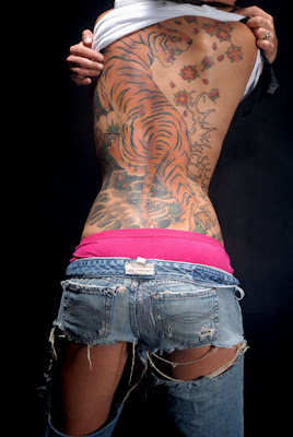 Hot Back Tattoos