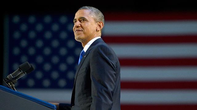 Barack Obama President Of America confident pose
