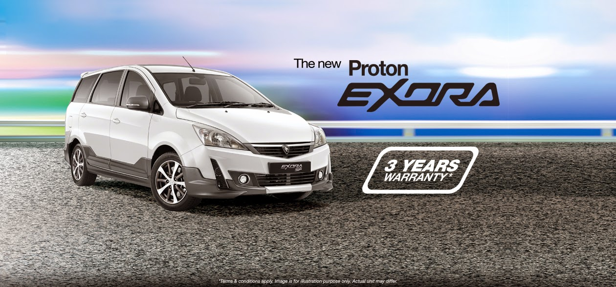 Exora - Senarai Harga Proton Edar Price List