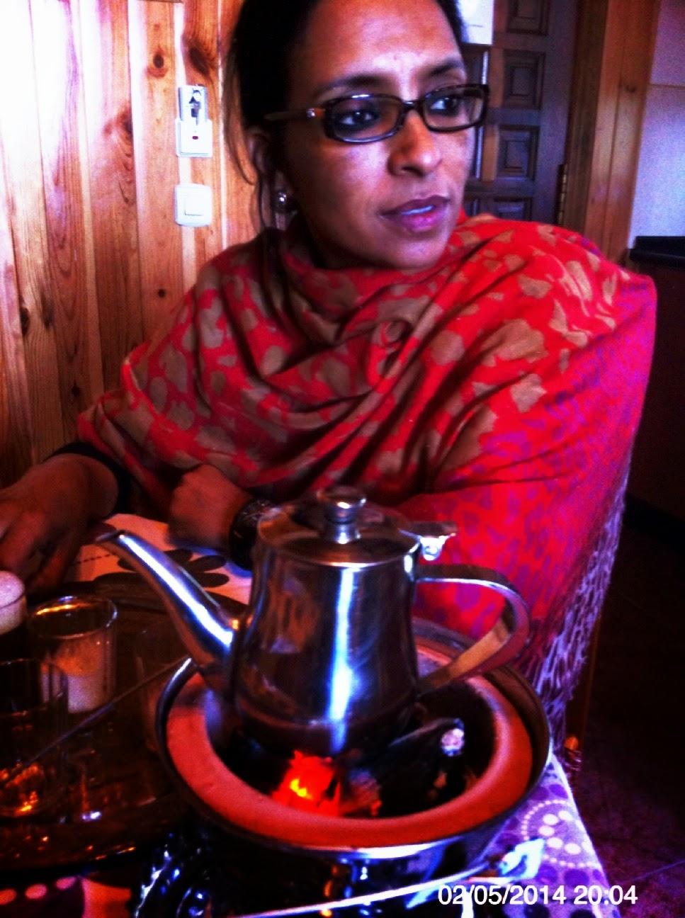 Les invito a un té saharaui