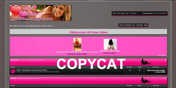 escort rosa sidan göteborg design