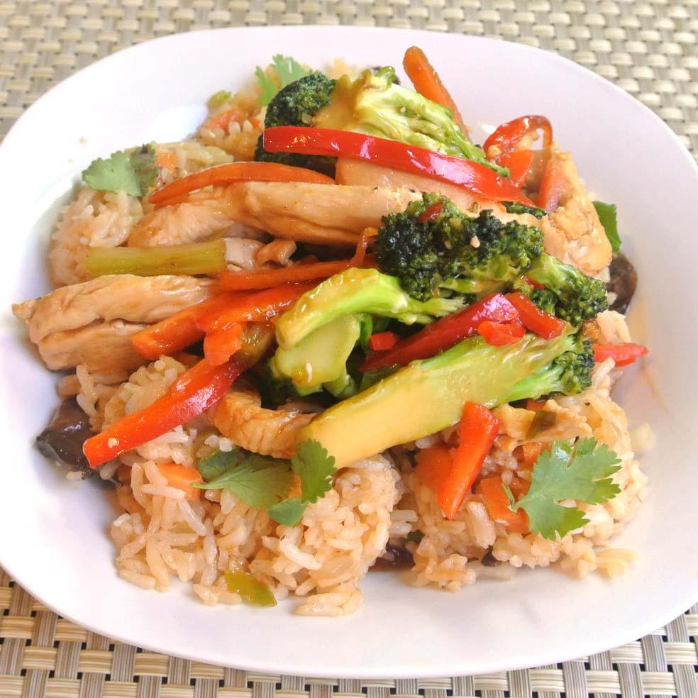 Easy Chicken Stir-Fry Recipe — Dishmaps
