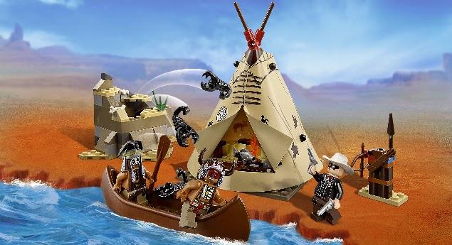 Lone Ranger Lego