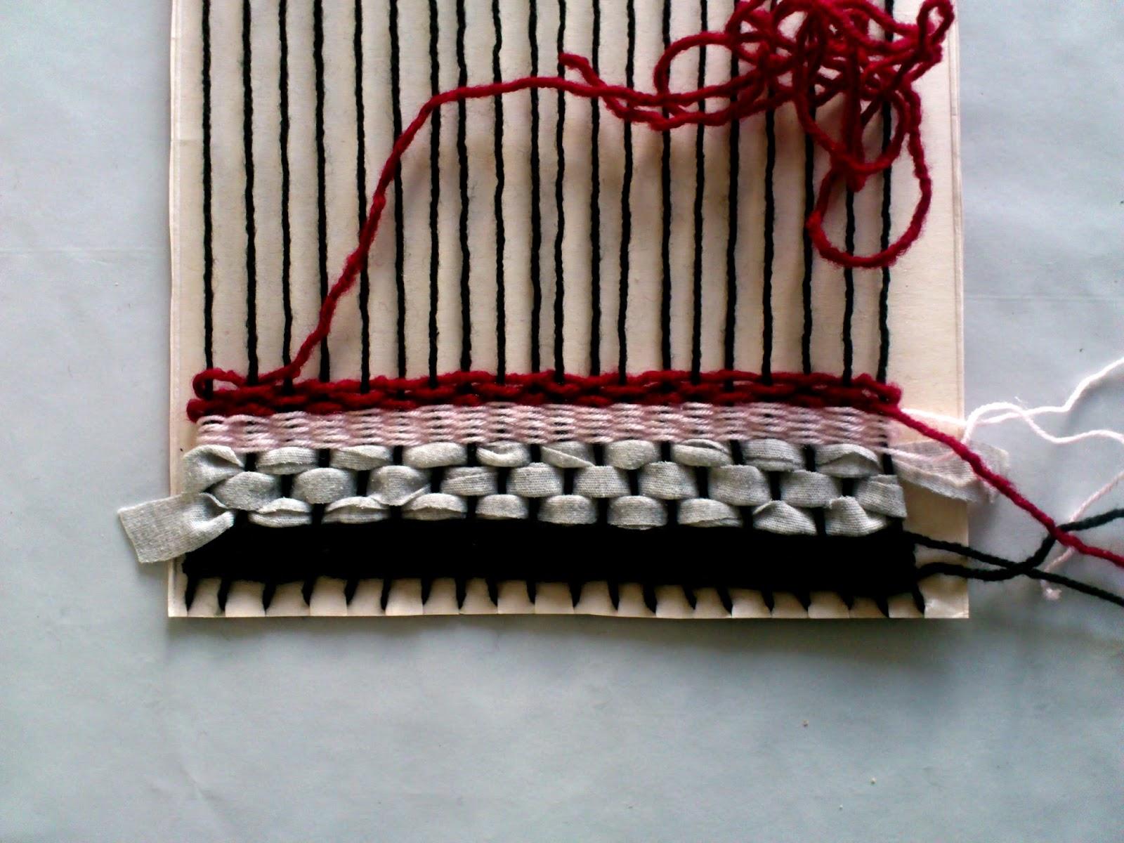 DIY Woven Yarn Wall Hanging