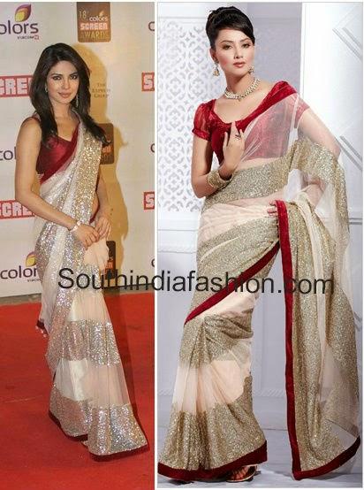 priyankachopra saree online