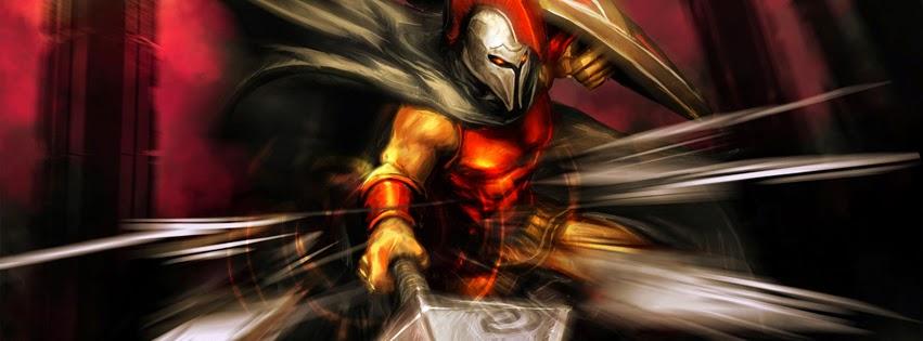 Pantheon League Of Legends Facebook Cover PHotos