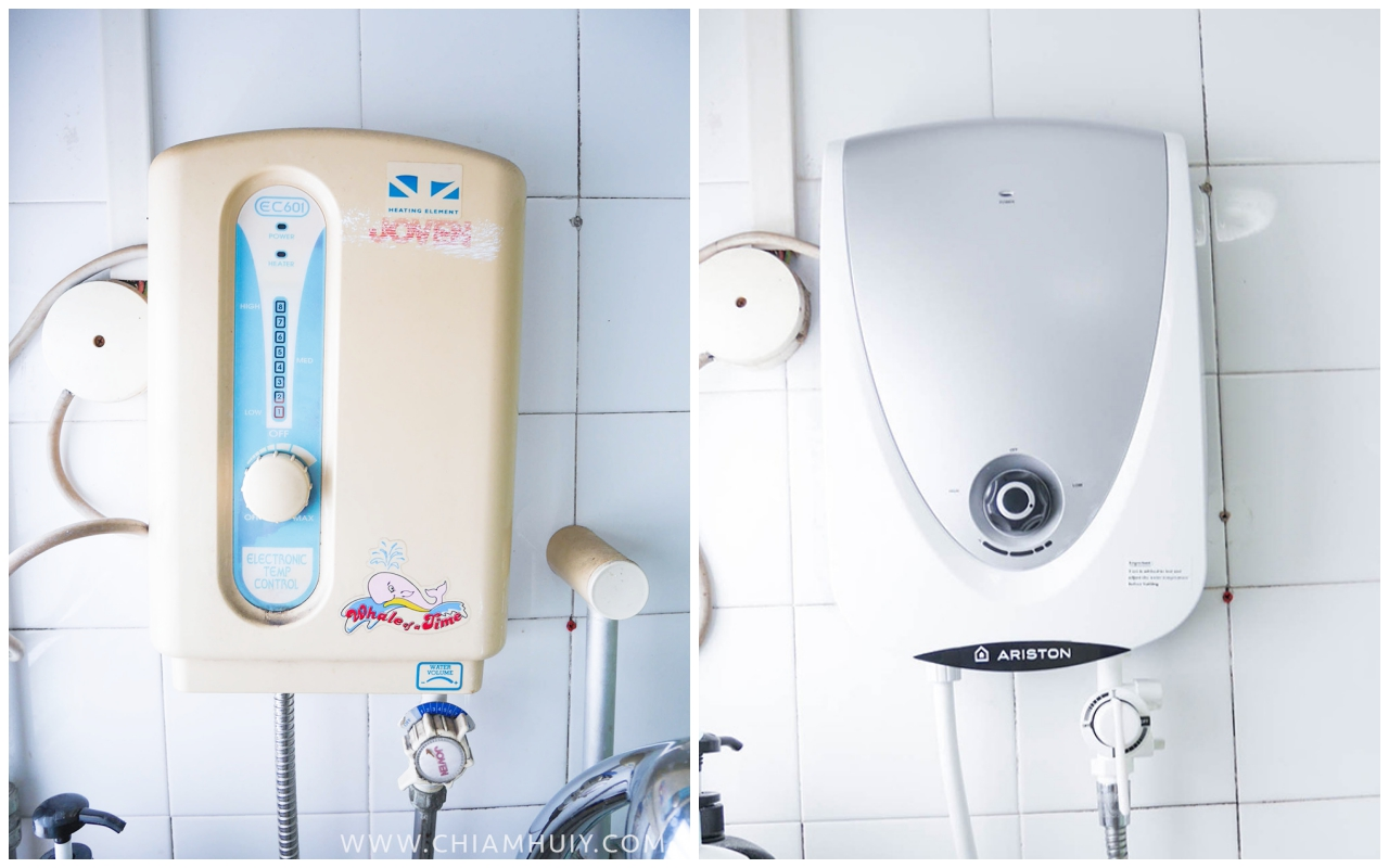 Water heater in bathroom - Ariston Instant Water Heater Now In Singapore