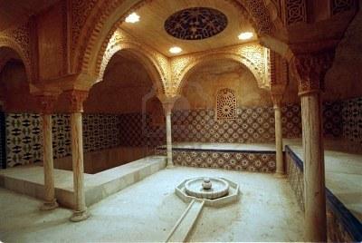 Granada y sus religiones ruta musulmana - Banos arabes granada ...