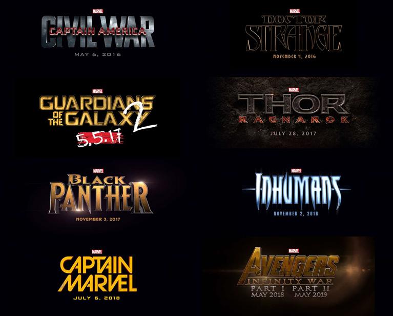 civil war, capitan america, capitan marvel, guardianes galaxia, inhumanos, pantera negra, doctor extraño, infinity war, thor ragnarok, el zorro con gafas