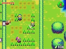 The Legend Of Zelda Four Swords
