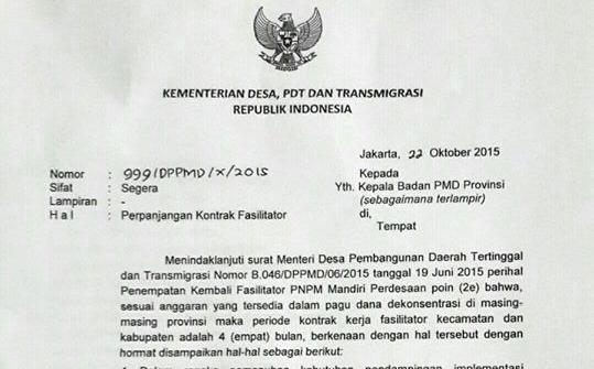 Surat-Kemendesa-Perpanjangan-Kontrak-Fasilitator-PNPM