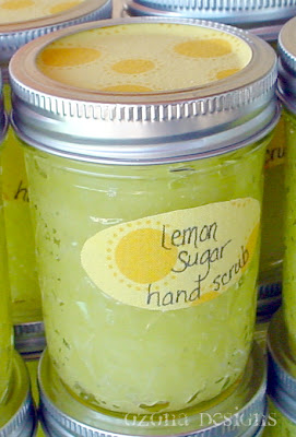 Lemon Sugar Hand Scrub Gifts