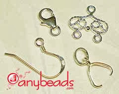 925 Sterling Silver Jewelry Findings at anybeads.com