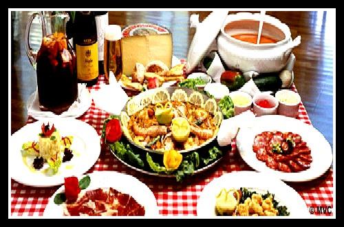 Sobre la mesa un rinc n para la comida espa ola - La cocina del 9 ...