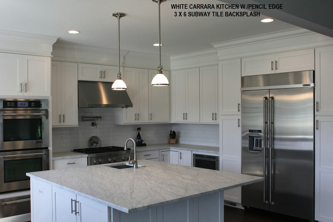 Remodeling Your Home With Granite Marble White Carrara Honed