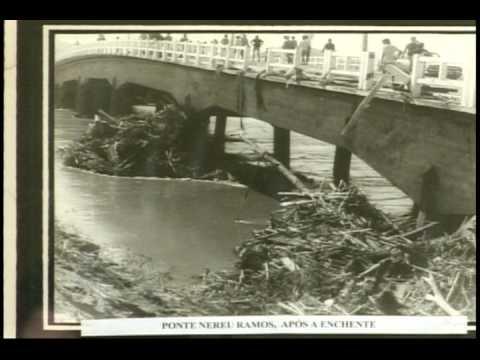 Trabalho foto enchente 1974