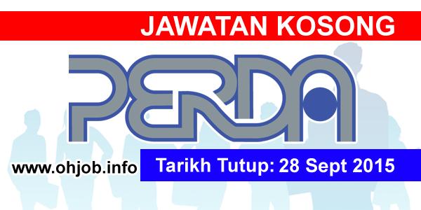 Jawatan Kerja Kosong Penang Regional Development Authority (PERDA) logo www.ohjob.info september 2015