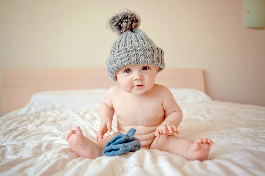 winter baby photography