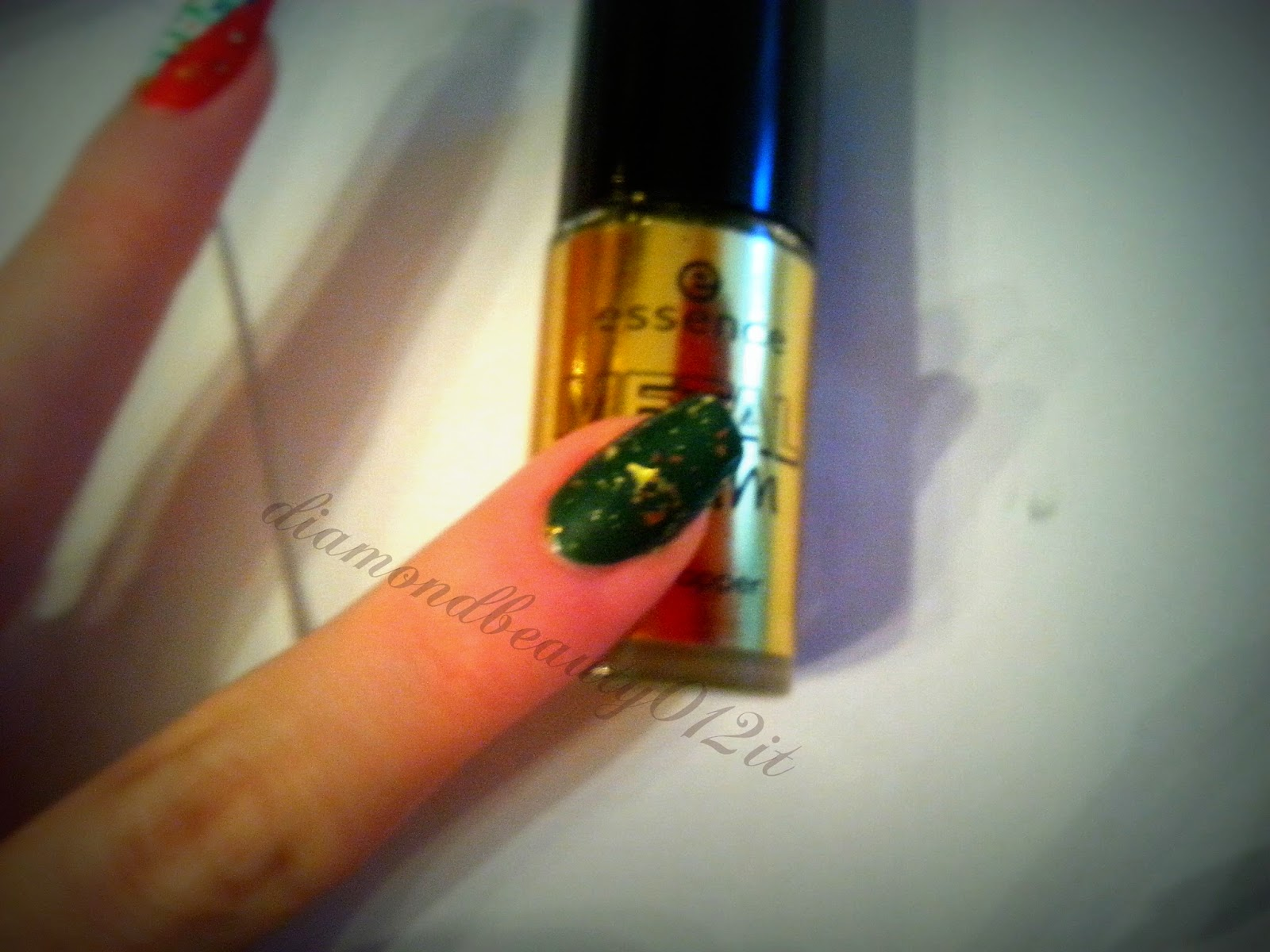 essence gold topper metal glam