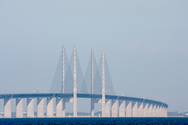 Incrível obra da engenharia conecta a Suécia e a Dinamarca Oresund