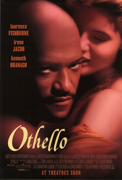 othello oliver parker An othello so weak in conception that iago emerges as the principal character, oliver parker's film adaptation of shakespeare's tragedy is one of the worst movies ever drawn from the world's greatest playwright parker sounds a single glum note throughout, and his othello, laurence fishburne, is dreadful.