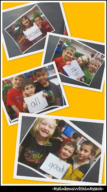 photo of: Kindergarten Photographs for Writing Project in Kindergarten in response to Pete the Cat