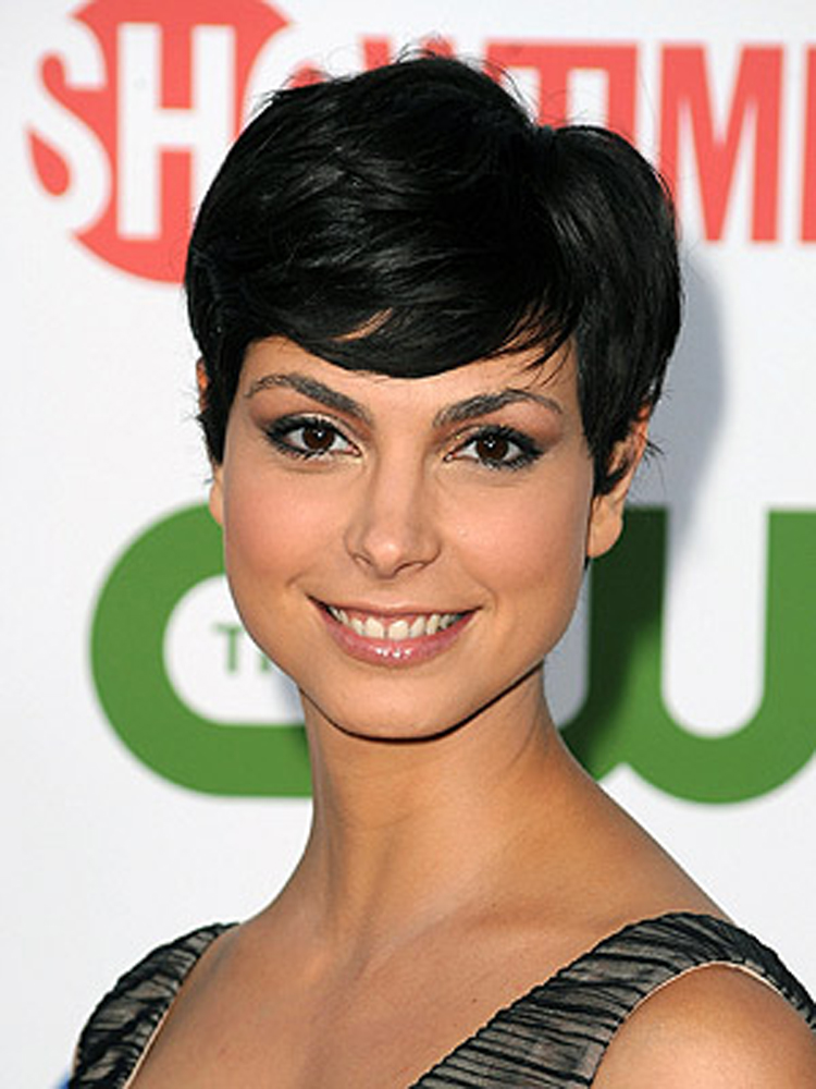Popular Celebrity Bang Hairstyles Morena Baccarin