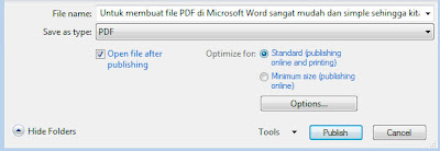 Publish PDF