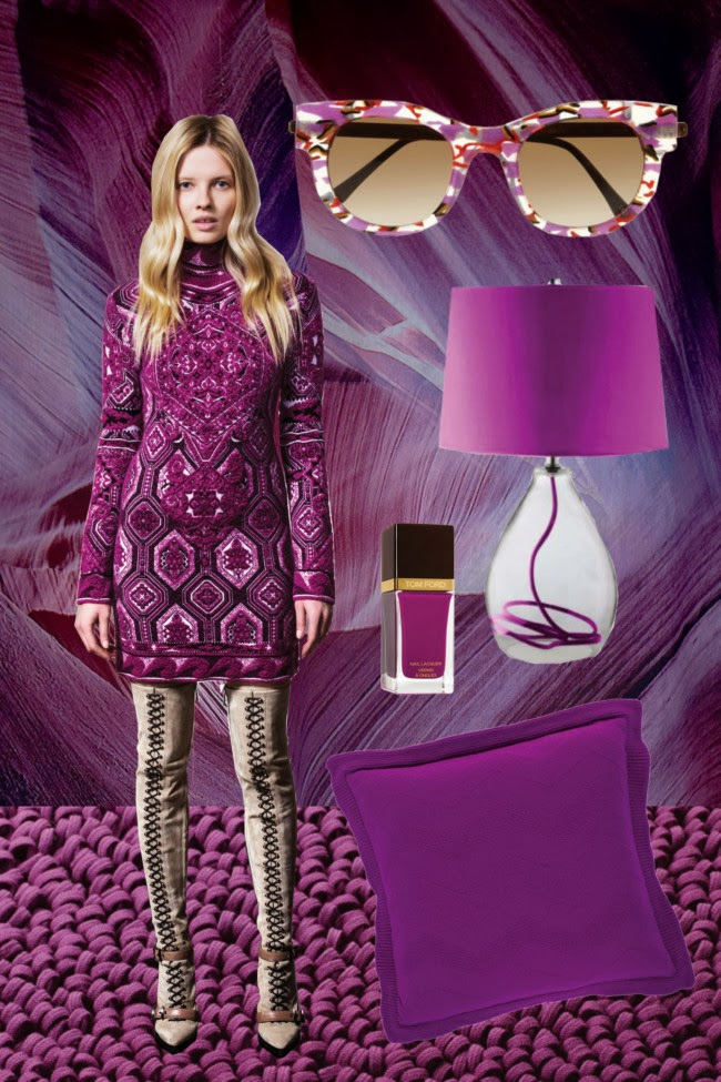 Fashion Inspiration Radiant Orchid 2014 Colour Cool
